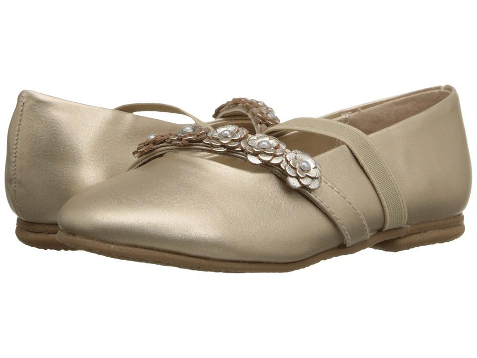 Jumping Jacks Kids - Balleto - Charm (Toddler/Little Kid/Big Kid) (Soft Gold Metallic) Girls Shoes