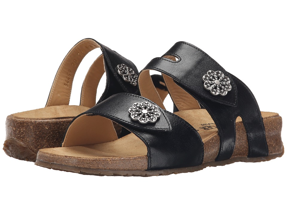 Haflinger - Pansy (Black) Women's Sandals