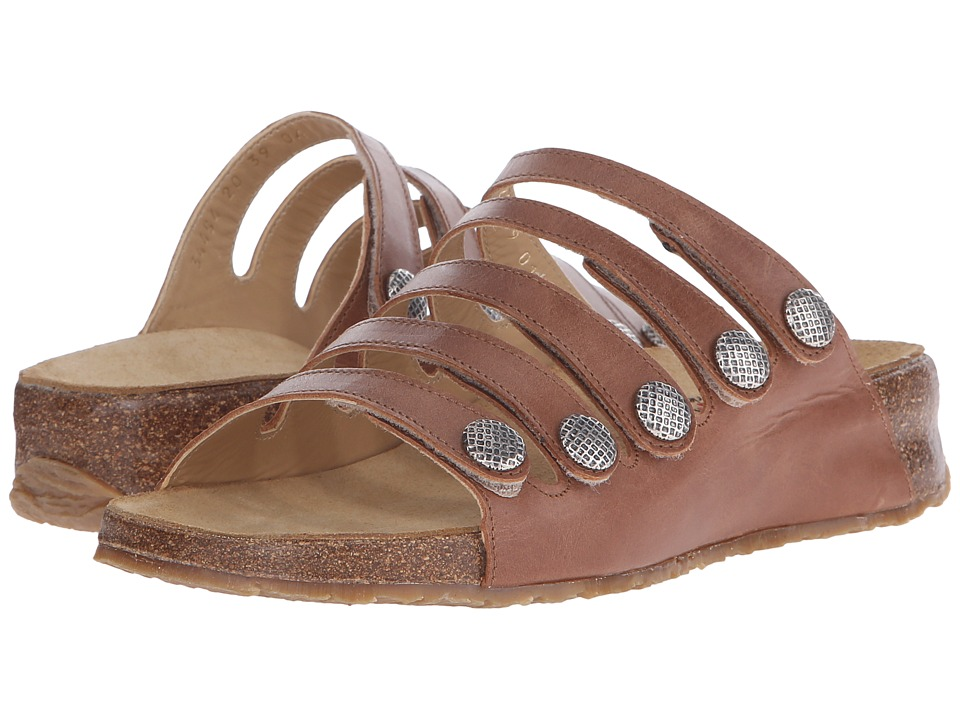 Haflinger - Payton (Walnut) Women's Sandals
