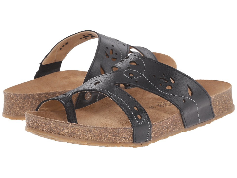 Haflinger - Marcy (Black) Women's Sandals
