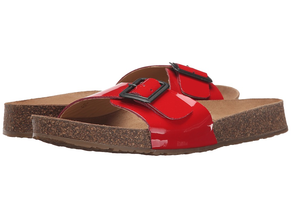 Haflinger - Gina (Red Patent) Women's Sandals