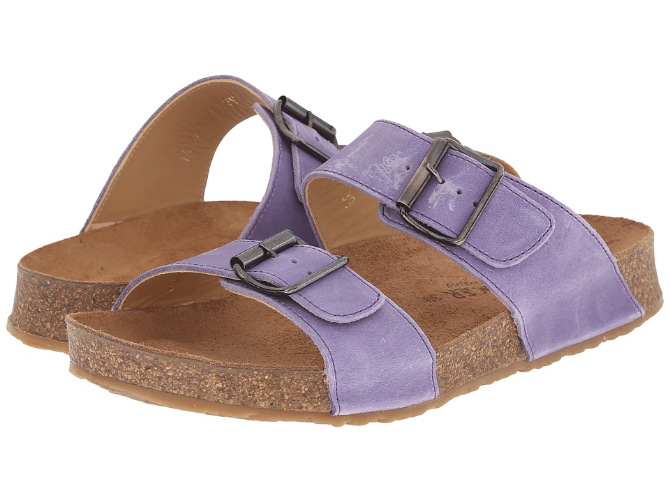 Haflinger - Andrea2 (Plum) Women's Sandals