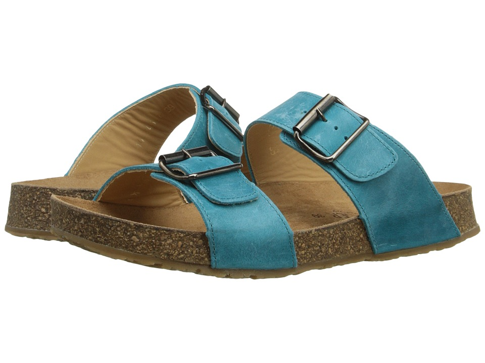 Haflinger - Andrea2 (Sky Blue) Women's Sandals