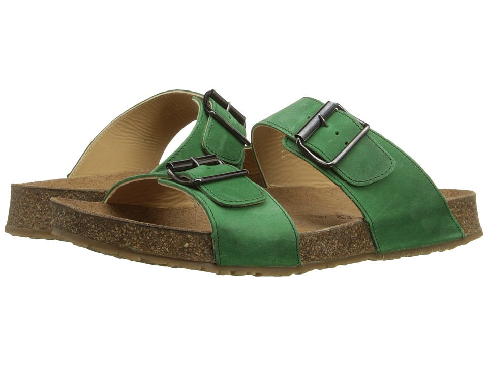 Haflinger - Andrea2 (Emerald) Women's Sandals