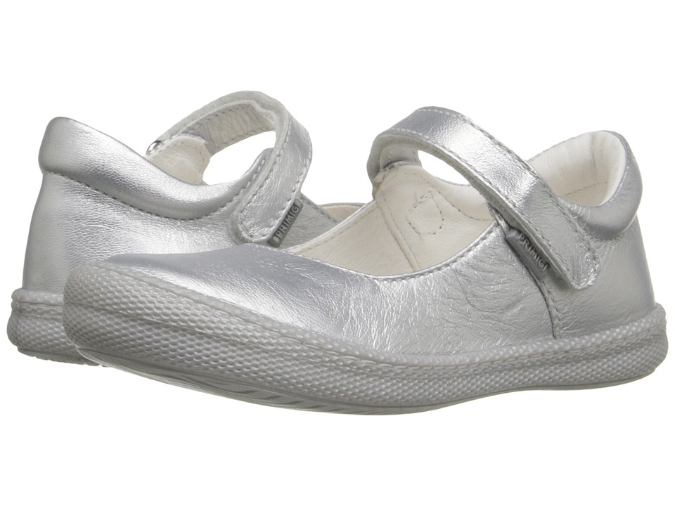 Primigi Kids - Morine 1-E Argento (Toddler/Little Kid) (Silver) Girls Shoes
