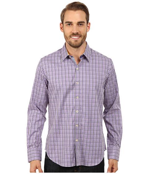 Robert Graham - Davies Long Sleeve Woven Shirt (Purple) Men