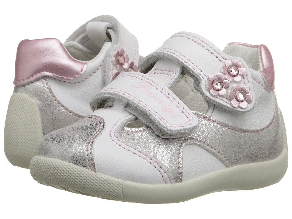 Primigi Kids - Monic Bianco (Infant/Toddler) (White) Girls Shoes