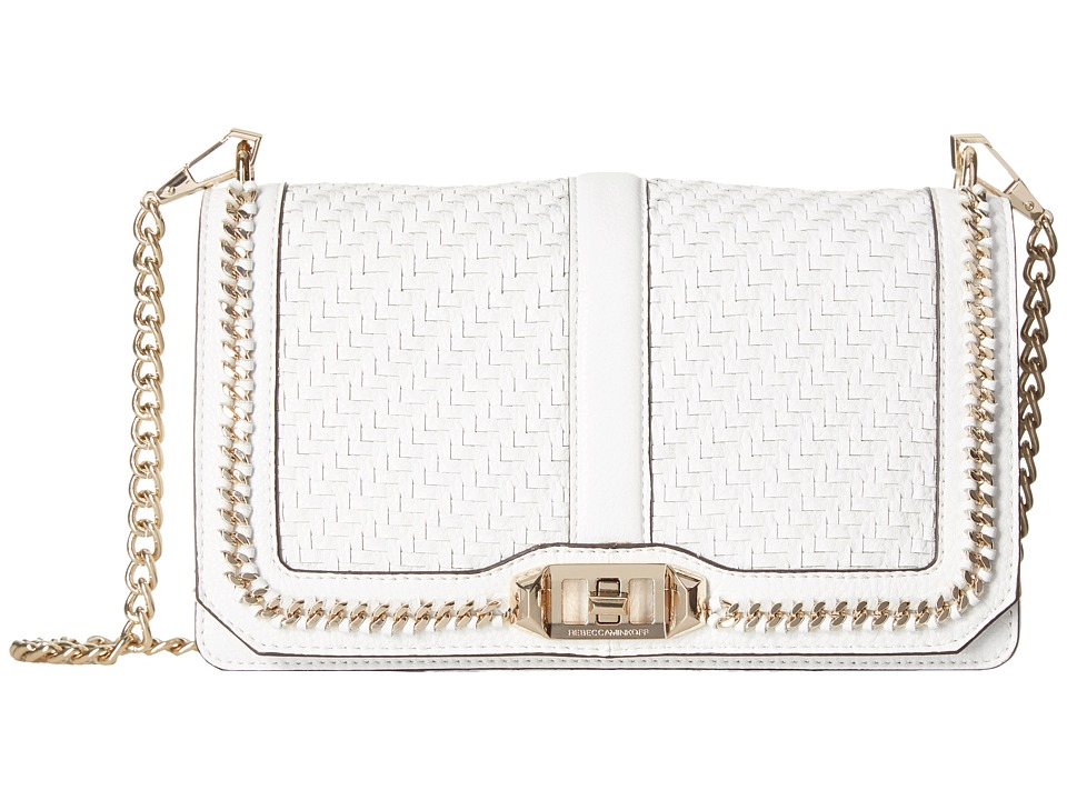 Rebecca Minkoff - Love Crossbody (White 1) Cross Body Handbags
