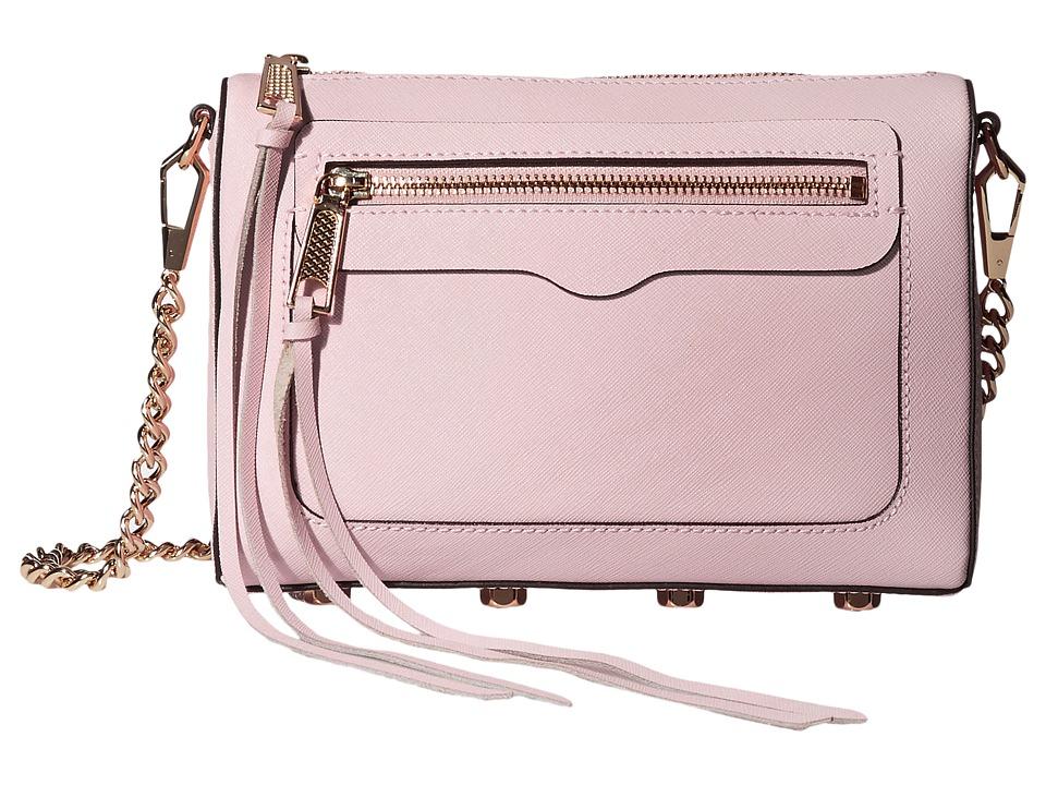 Rebecca Minkoff - Avery Crossbody (Baby Pink) Cross Body Handbags