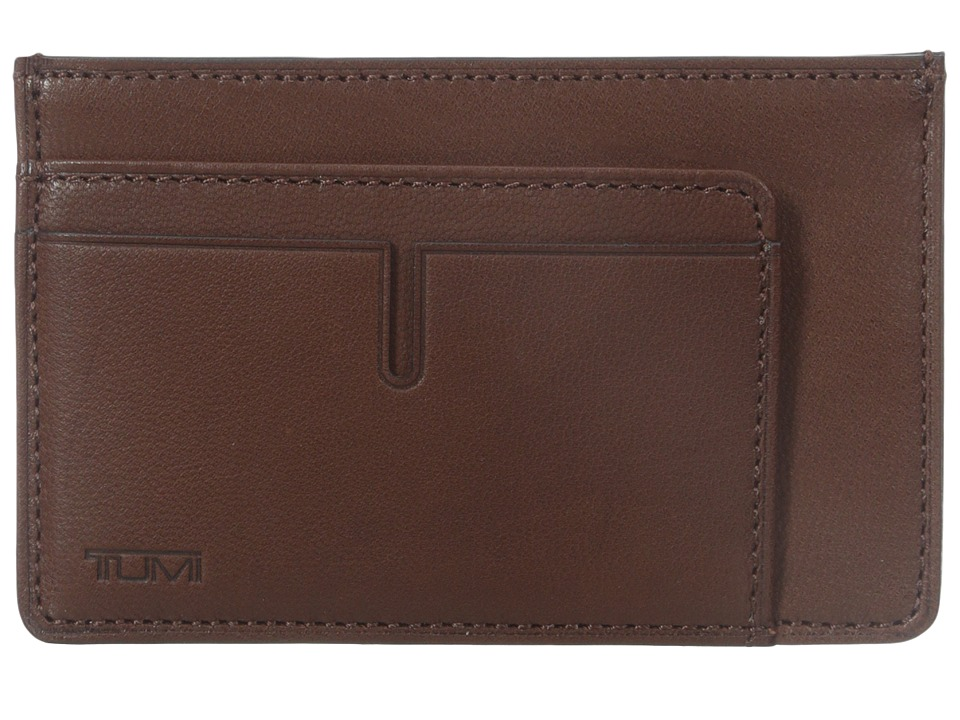 Tumi - Chambers - Long Card Case (Teak) Wallet