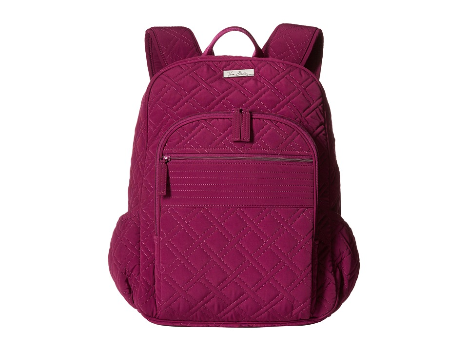 Vera Bradley - Campus Backpack (Plum) Backpack Bags