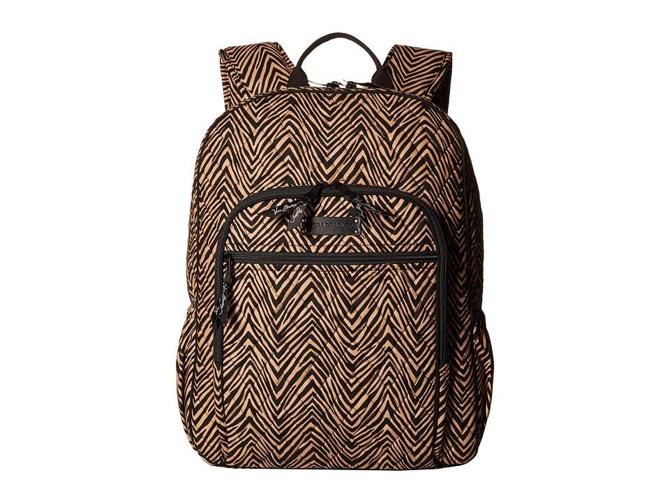 Vera Bradley Campus Backpack (Zebra) Backpack Bags