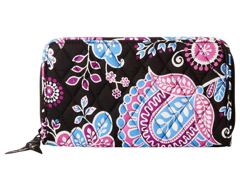 Vera Bradley - Accordion Wallet (Alpine Floral) Wallet Handbags