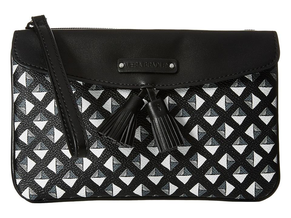 Vera Bradley - Tassel Wristlet (Black/White Studs) Wristlet Handbags