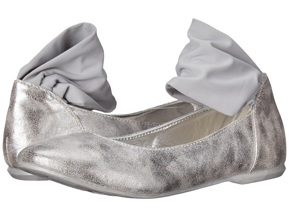 Primigi Kids - Ginni Argento (Big Kid) (Silver) Girls Shoes