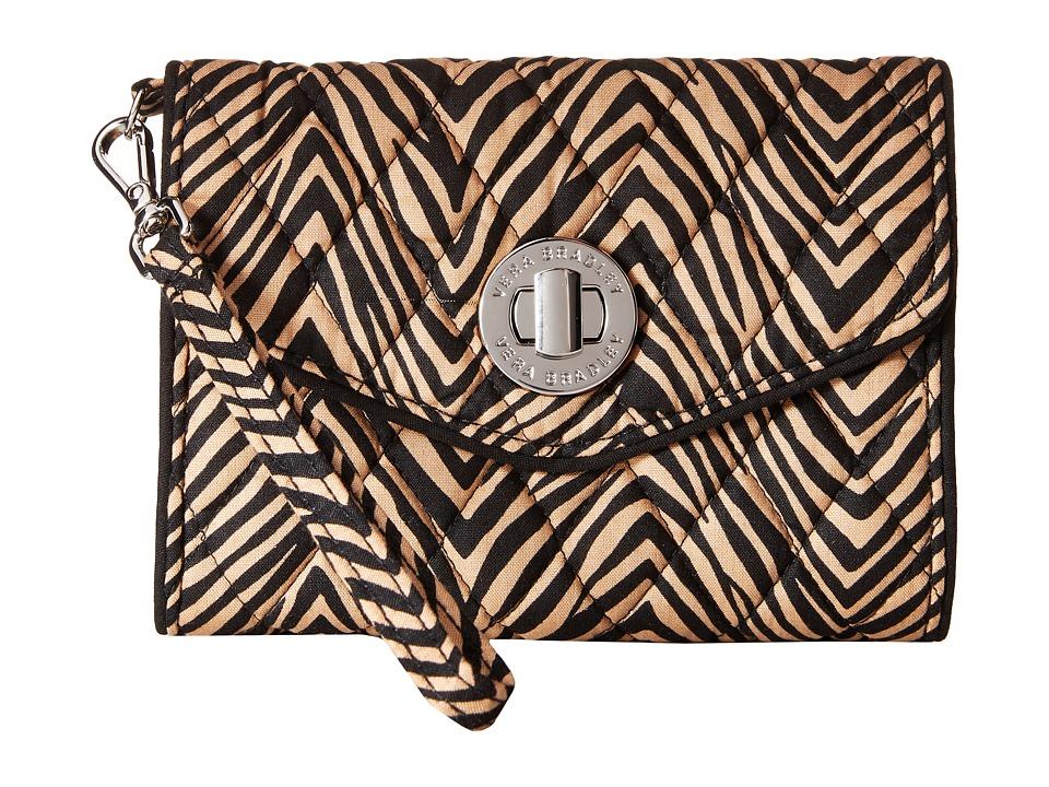 Vera Bradley - Your Turn Smartphone Wristlet (Zebra) Wristlet Handbags