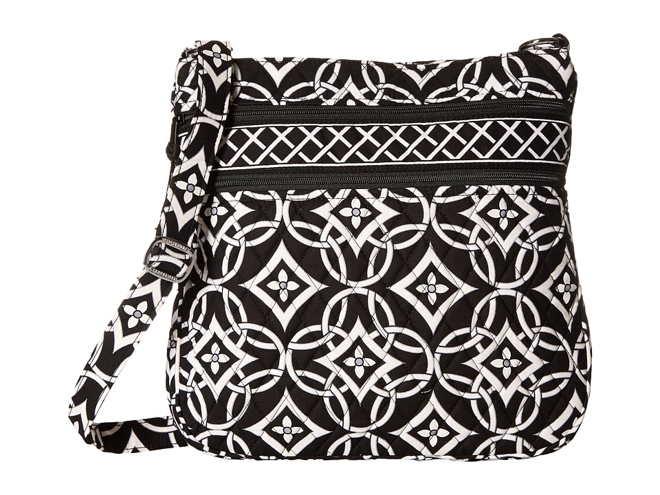 Vera Bradley - Triple Zip Hipster (Concerto) Cross Body Handbags