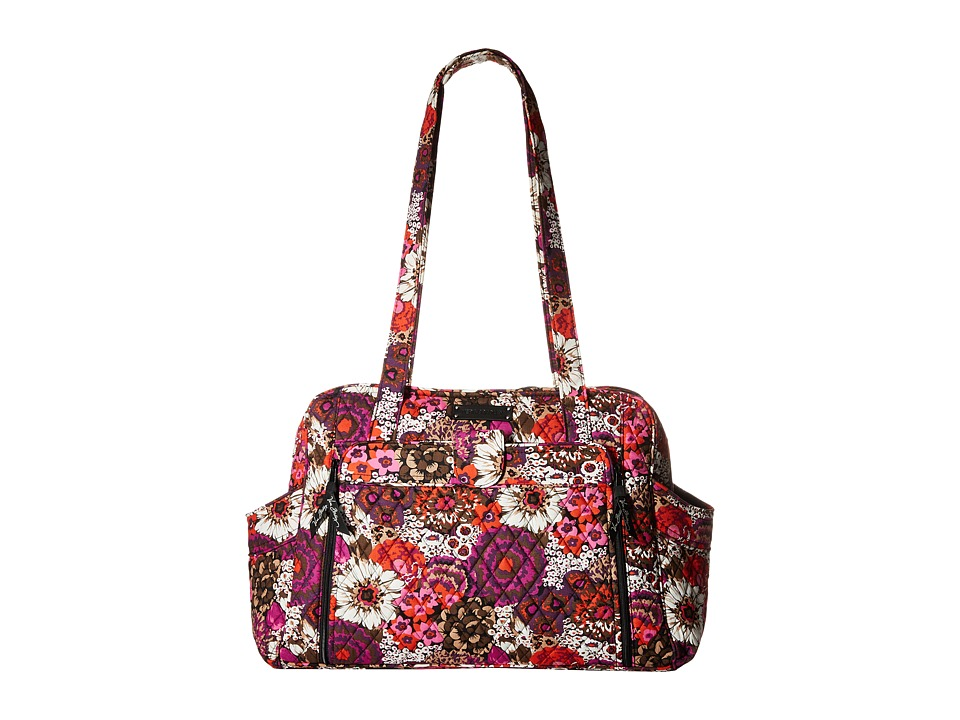 Vera Bradley - Stroll Around Baby Bag (Rosewood) Diaper Bags