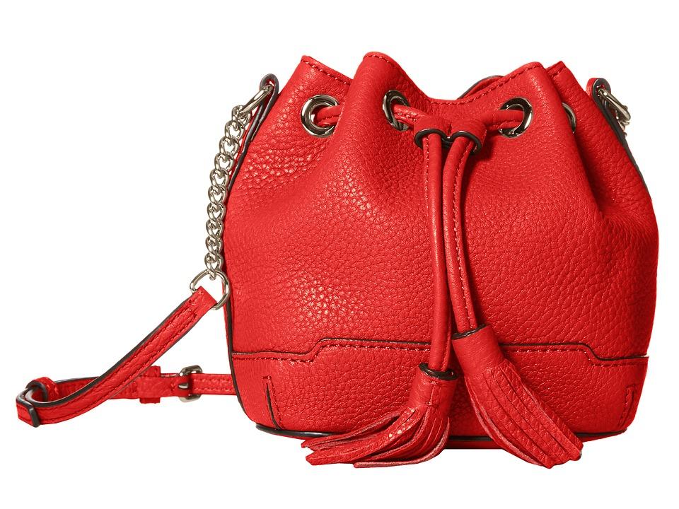 Rebecca Minkoff - Micro Lexi Bucket (Cherry) Cross Body Handbags