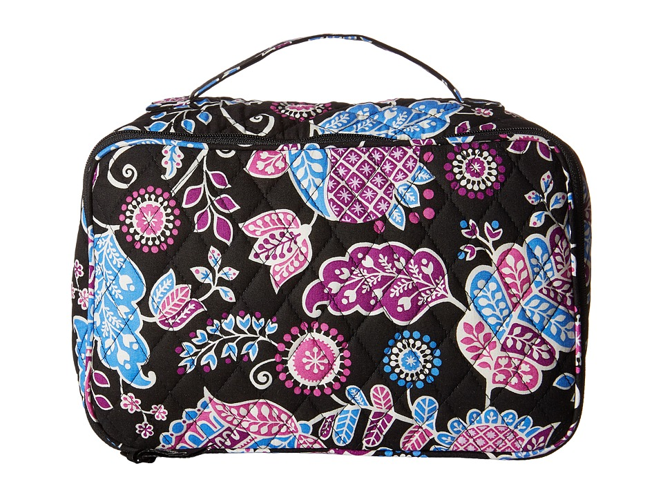 Vera Bradley Luggage - Large Blush Brush Makeup Case (Alpine Floral) Cosmetic Case