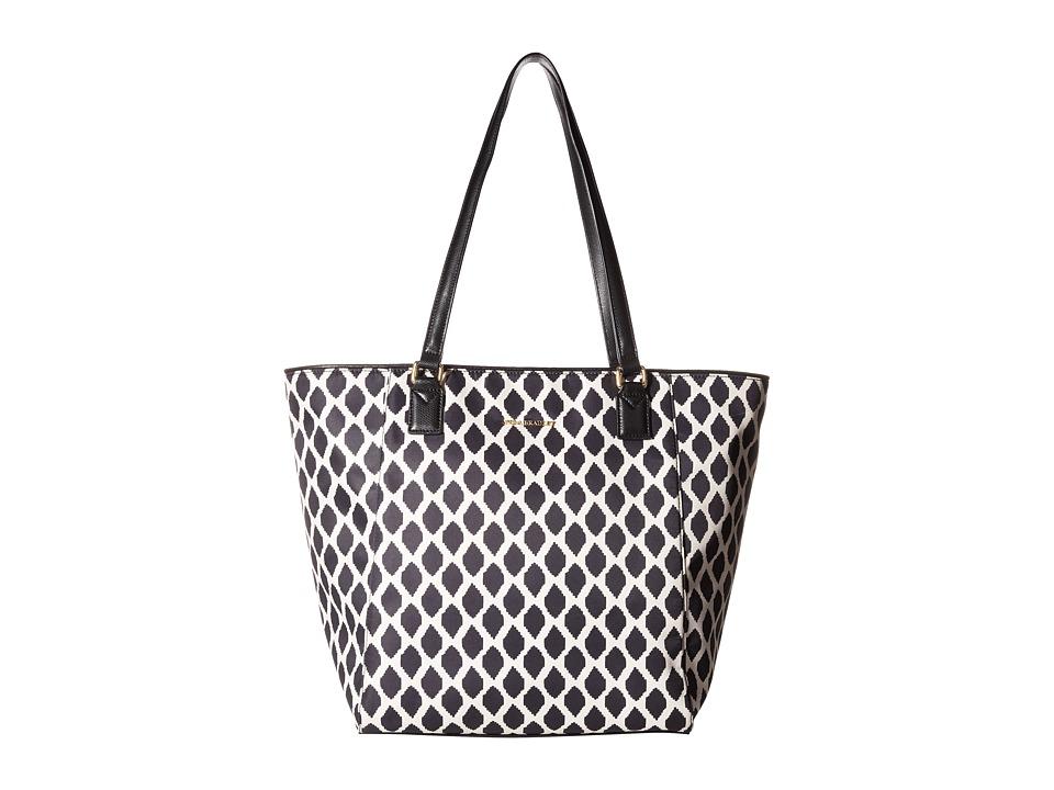 Vera Bradley - Ella Tote (Ikat Spots/Black) Tote Handbags