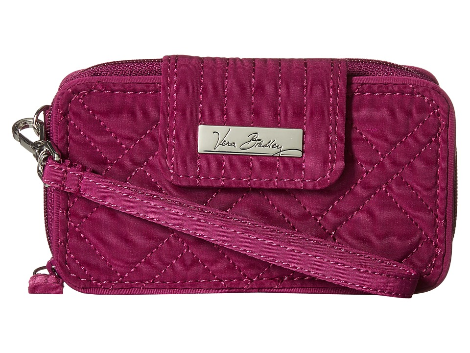 Vera Bradley - Smartphone Wristlet for iPhone 6 (Plum) Wristlet Handbags