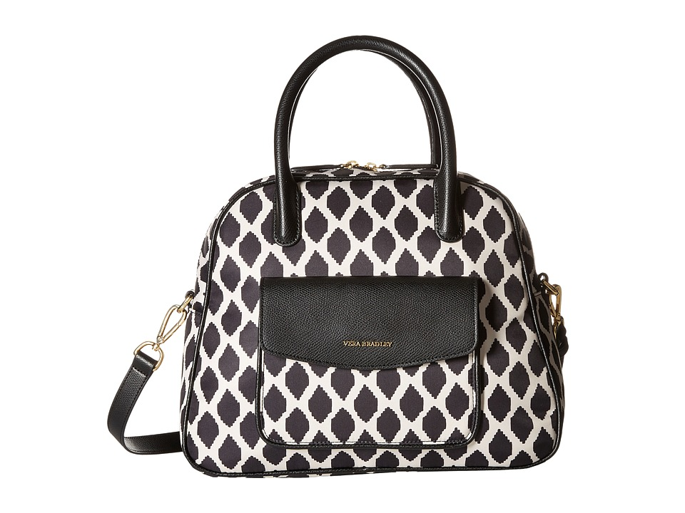 Vera Bradley - Bowler (Ikat Spots/Black) Shoulder Handbags