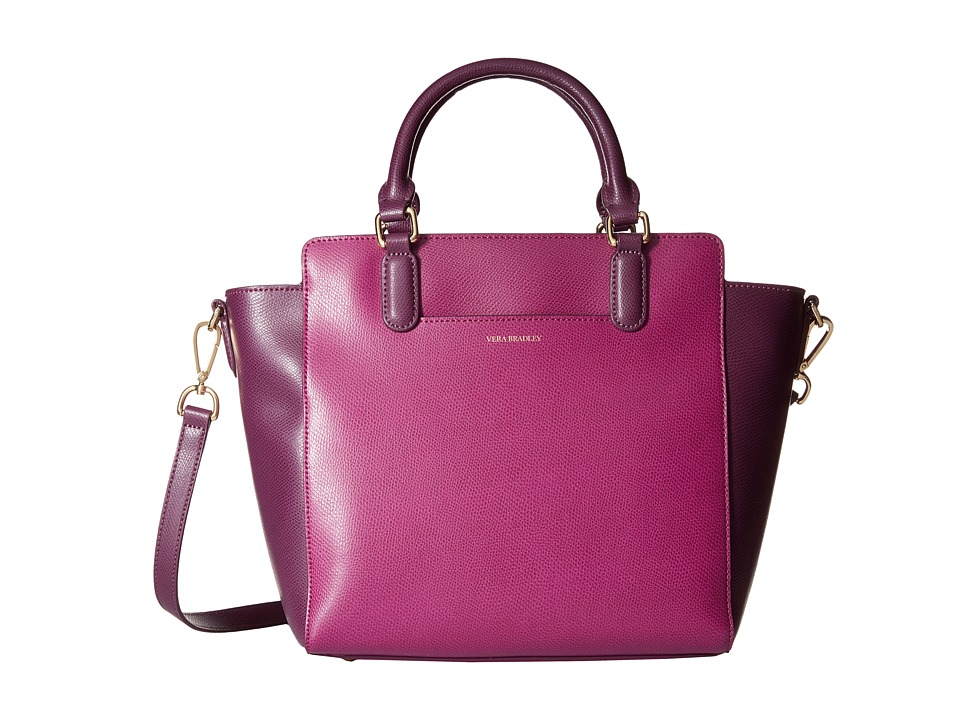 Vera Bradley - Morgan Satchel (Plum) Satchel Handbags
