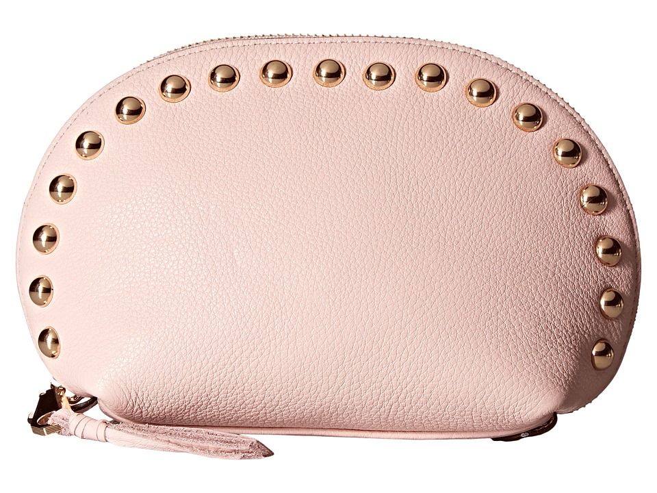 Rebecca Minkoff - Dome Pouch with Studs (Baby Pink) Clutch Handbags