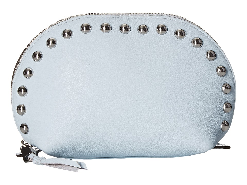 Rebecca Minkoff - Dome Pouch with Studs (Bleached Blue) Clutch Handbags