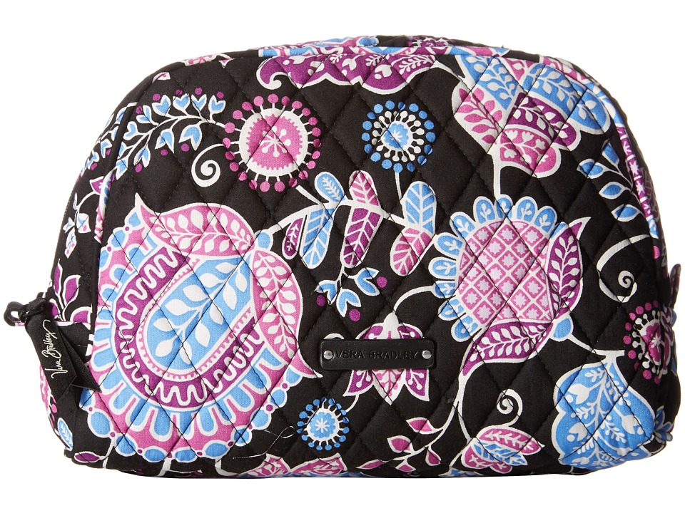 Vera Bradley Luggage Large Zip Cosmetic (Alpine Floral) Cosmetic Case