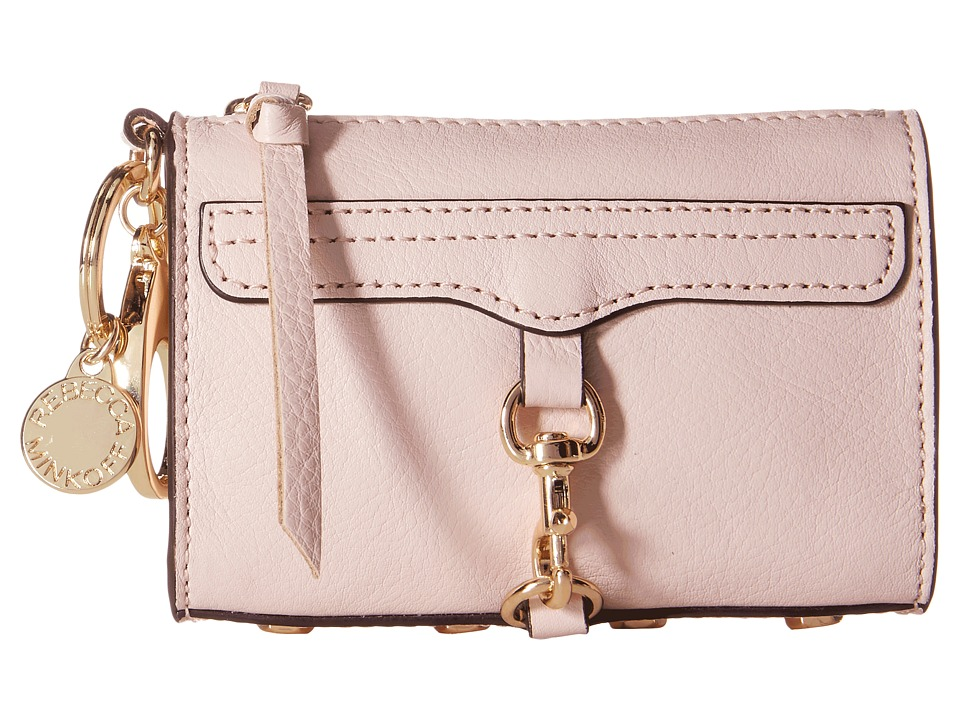 Rebecca Minkoff - Mini Mac Key Fob (Baby Pink) Credit card Wallet