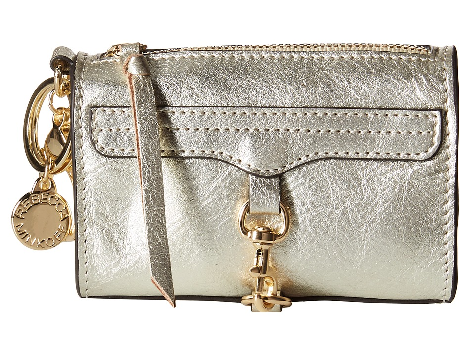 Rebecca Minkoff - Mini Mac Key Fob (Pewter) Credit card Wallet