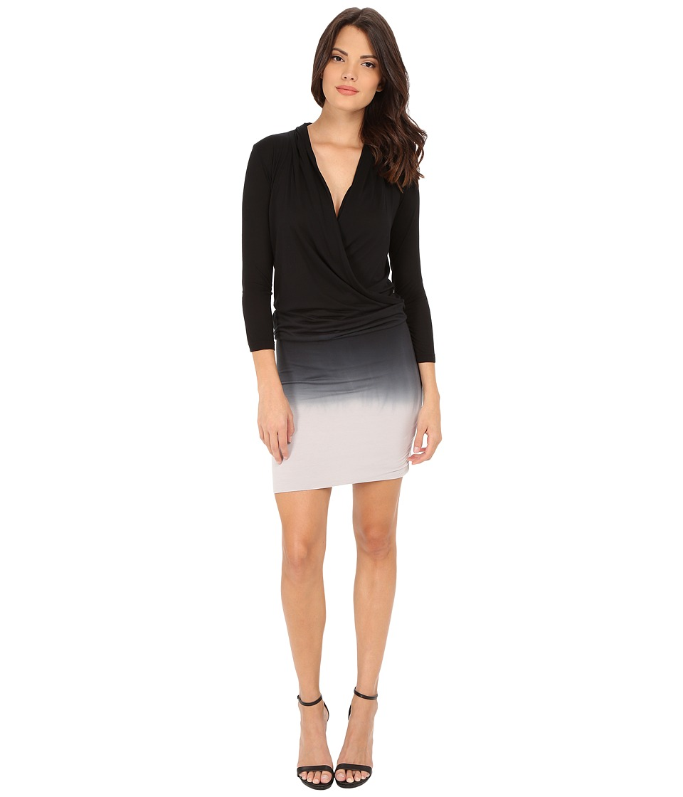 Young Fabulous & Broke - Getty Dress (Black/Grey Ombre) Women