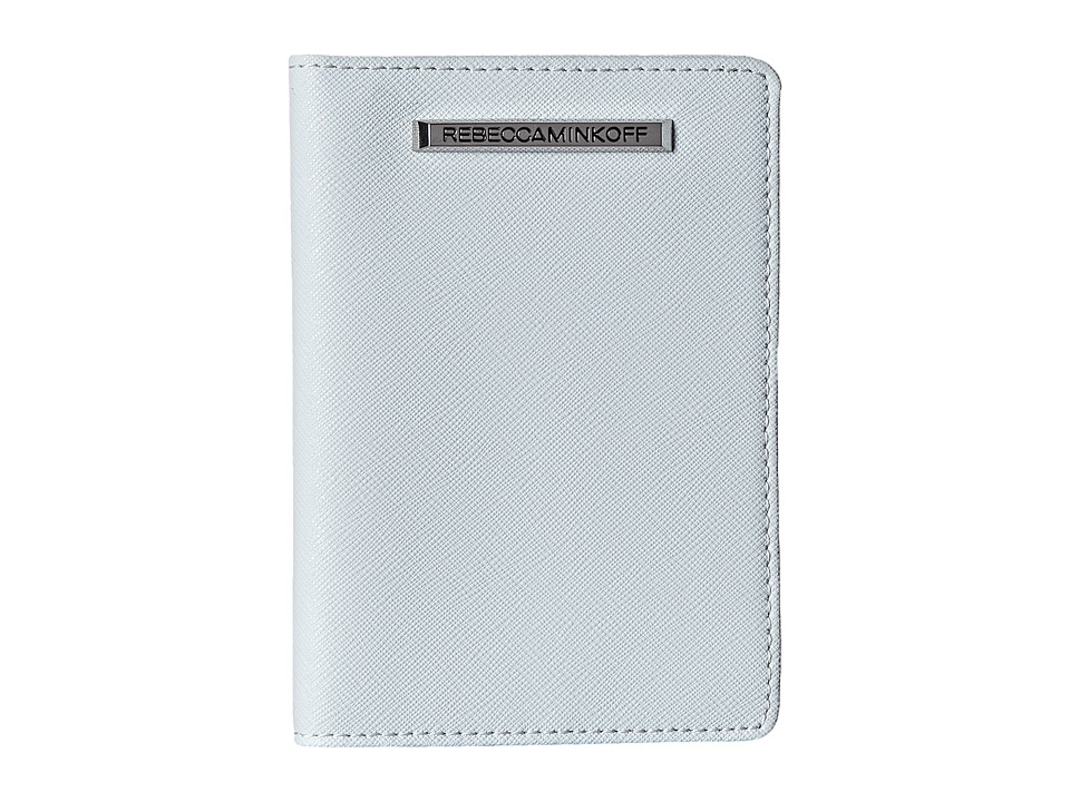 Rebecca Minkoff - Passport Holder (Bleached Blue) Wallet