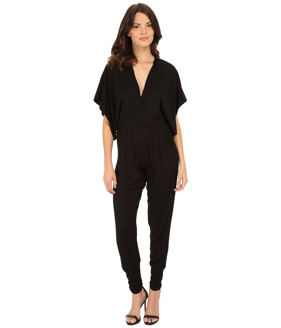 Young Fabulous & Broke - Victoria Jumpsuit in Black (Black) Women's Jumpsuit & Rompers One Piece