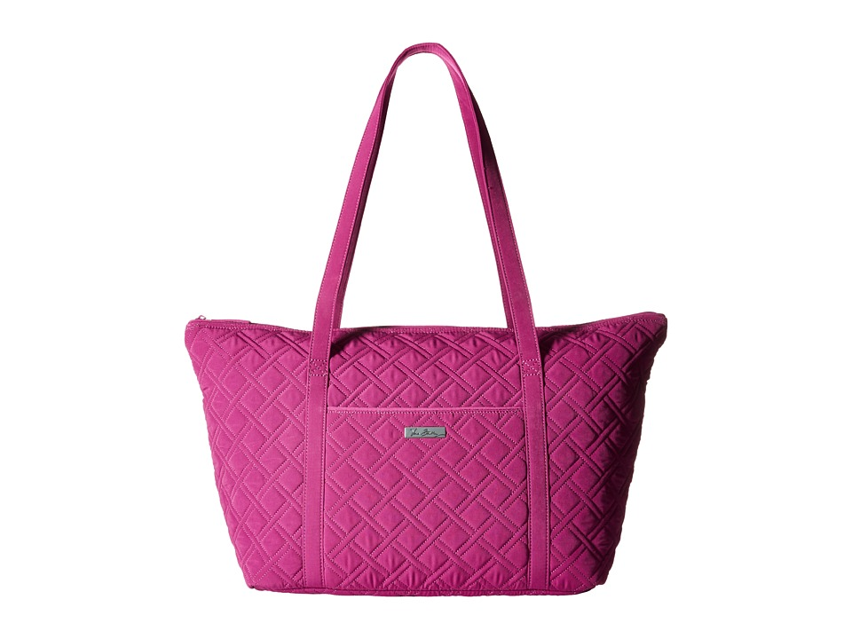 Vera Bradley Luggage - Miller Bag (Plum) Tote Handbags