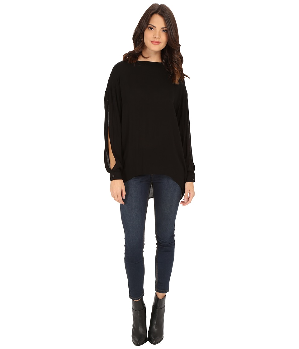 Young Fabulous & Broke - Anya Top (Black) Women's Blouse