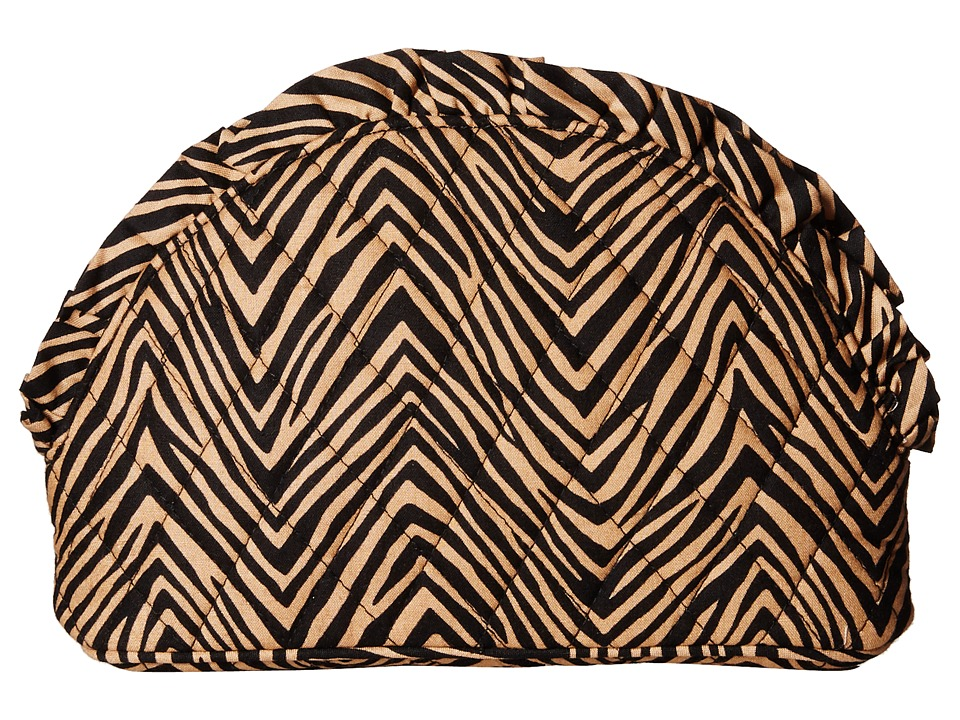 Vera Bradley Luggage - Ruffle Cosmetic (Zebra) Luggage