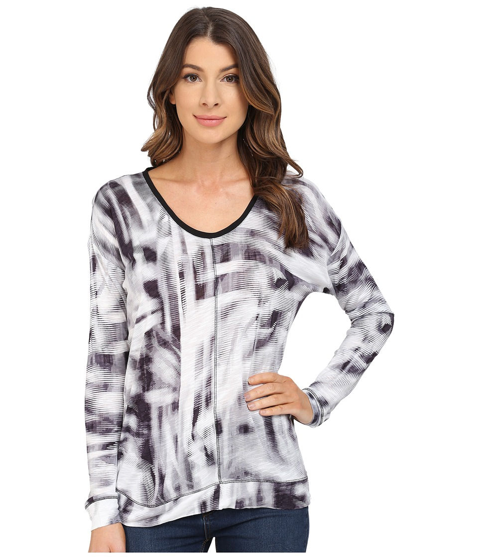 Calvin Klein Jeans - Long Sleeve Downtown Tee (Pewter) Women