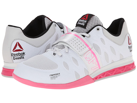 Reebok - Crossfit Lifter 2.0 (Porcelain/Steel/Electro Pink) Women's Shoes