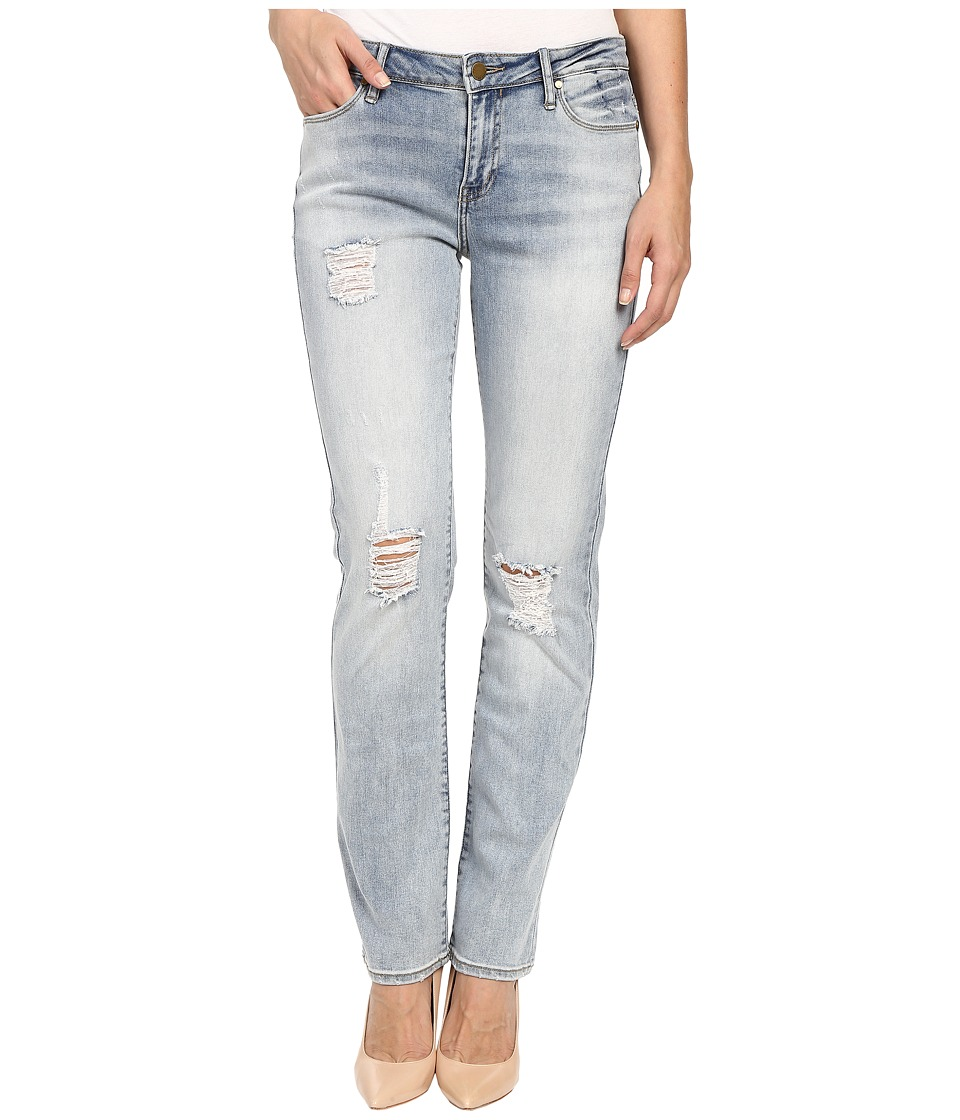 Calvin Klein Jeans - Destroyed Straight-Perfect Jeans in Perfect Pale (Perfect Pale) Women's Jeans