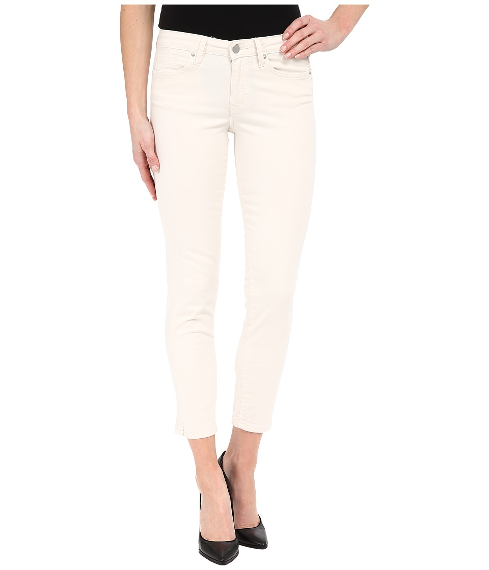 Calvin Klein Jeans - Five-Pocket Cropped Color Driver Jeans in Misty White (Misty White) Women's Jeans