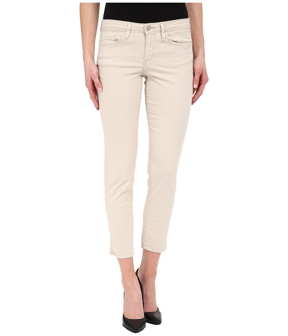 Calvin Klein Jeans - Five-Pocket Cropped Color Driver Jeans in Vanilla Ice (Vanilla Ice) Women's Jeans