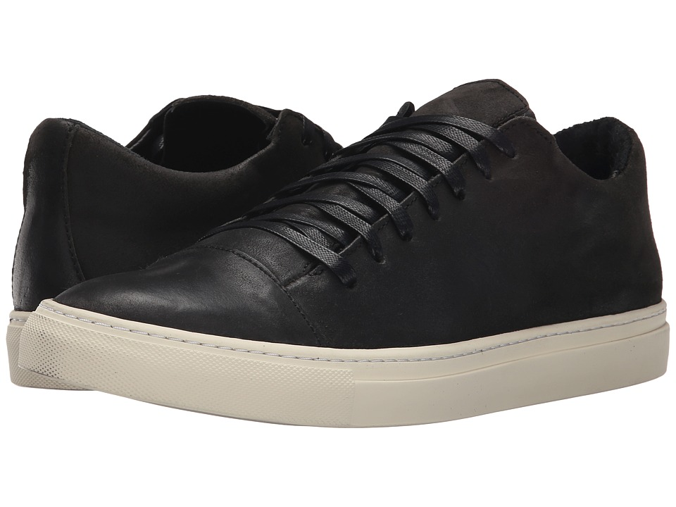 John Varvatos - Reed 315 Low Top (Charcoal) Men's Lace up casual Shoes
