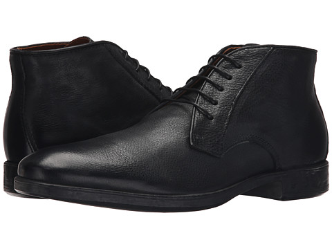 John Varvatos - Dylan Chukka (Mineral Black) Men's Lace-up Boots