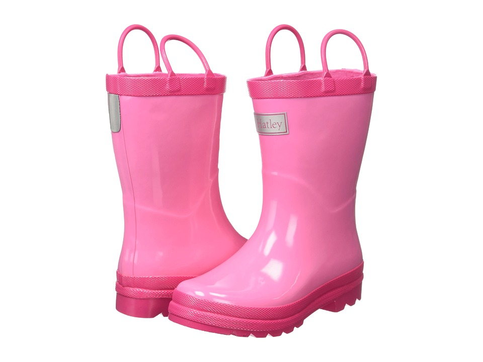 Hatley Kids Pink Berry Rainboots (Toddler/Little Kid) (Pink/Berry) Girls Shoes