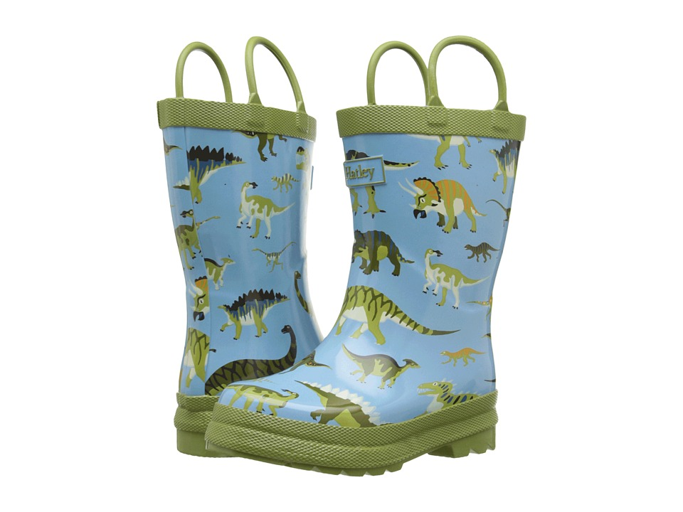 Hatley Kids Wild Dinos Rainboots (Toddler/Little Kid) (Blue) Boys Shoes