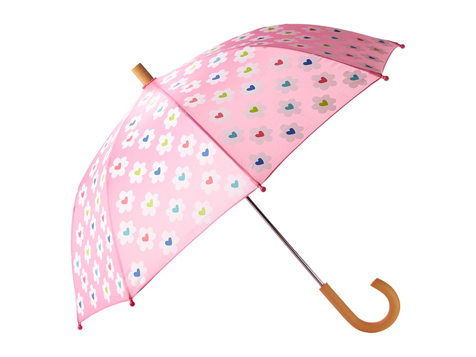 Hatley Kids - Flower Heart Garden Umbrella (Pink) Umbrella