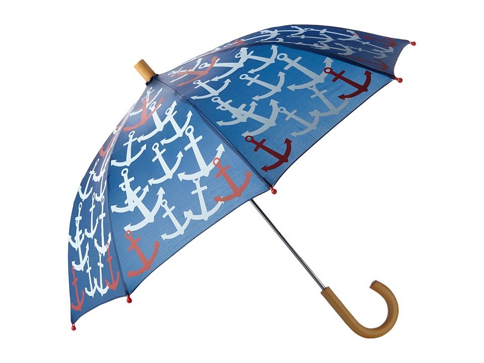 Hatley Kids - Scattered Anchors Umbrella (Navy) Umbrella